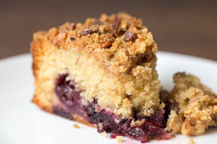Cherry Crumble Cake Nicky S Kitchen Sanctuary