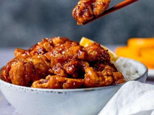 orange chicken recipe ready in 20 minutes nicky s kitchen sanctuary