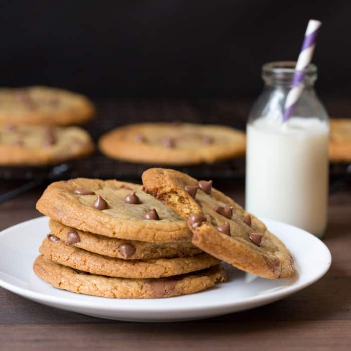Classic chewy chocolate chip cookies