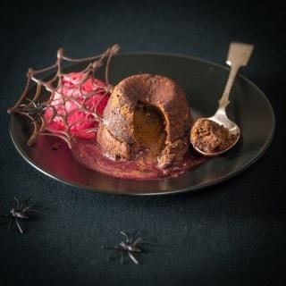 Halloween chocolate cherry fondant
