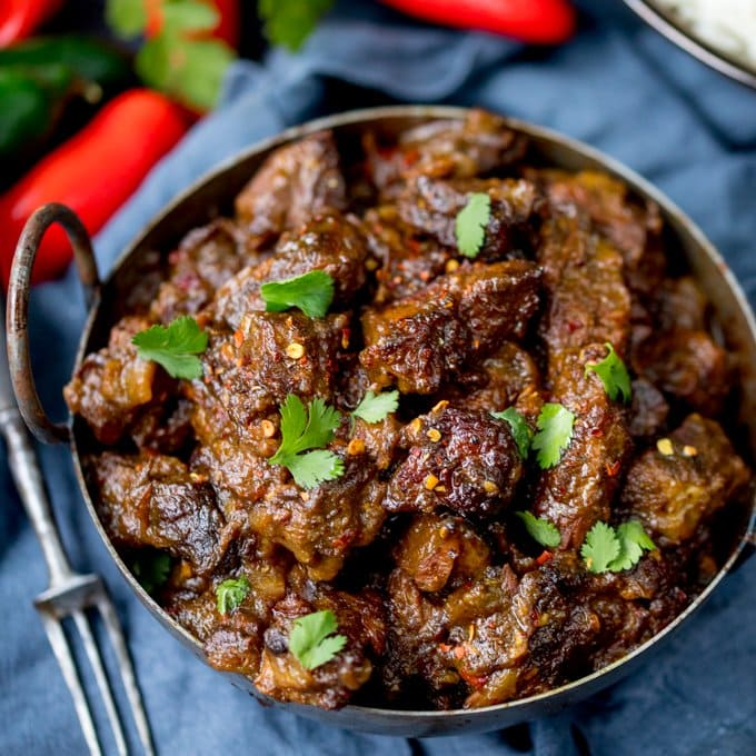 Spicy Beef Rendang - Nicky's Kitchen Sanctuary