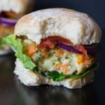 Cheesy Veggie burgers - these healthy burgers are so tasty even the meat eaters will demand them!