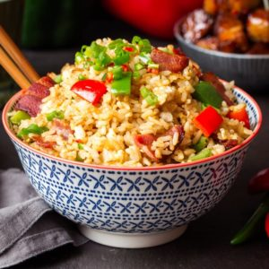 Instructions and tips on making perfect fried rice
