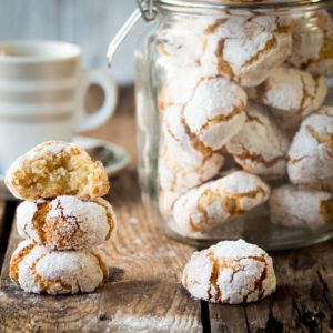 Chewy Delicious Amaretti Cookies