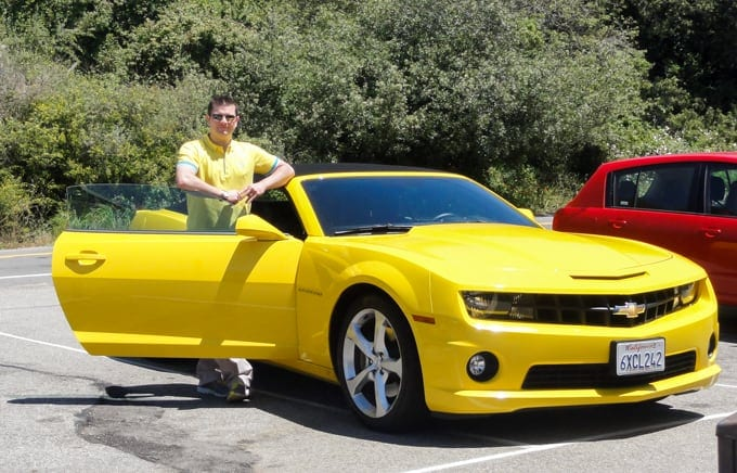 Yellow Camaro