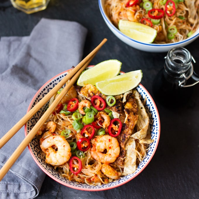30 minute Malaysian Mee Siam