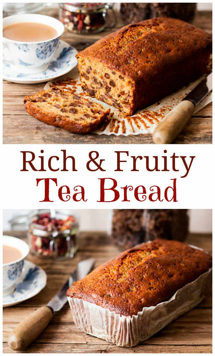 Moist And Fruity Tea Bread Nicky S Kitchen Sanctuary