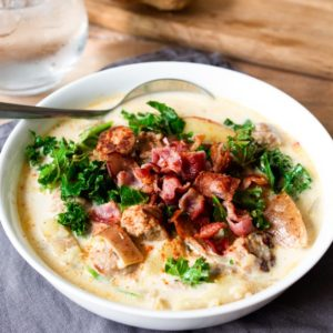 This Zuppa Toscana is beautifully rich and creamy. Really simple to make too!
