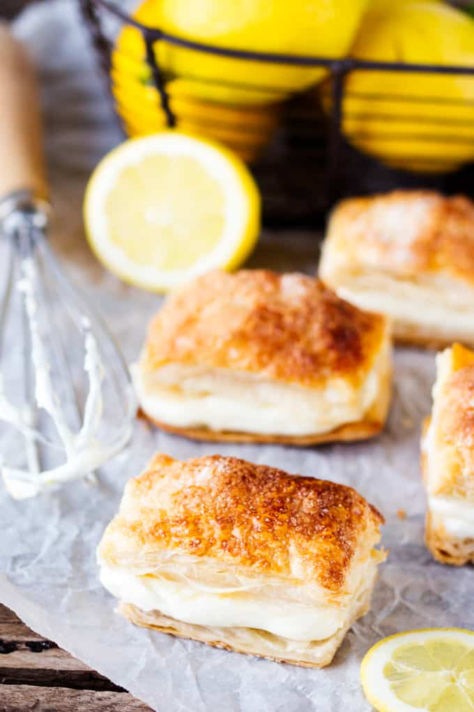 Quick, easy and really tasty Lemon Cream Cheese Puffs