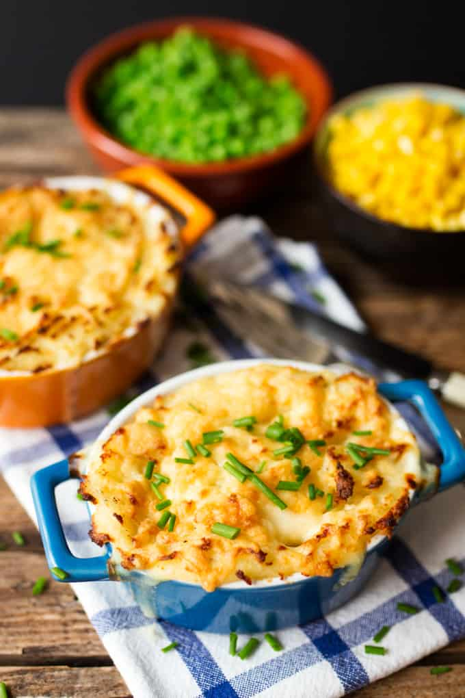 Nothing beats a creamy fish pie for some hearty comfort food.