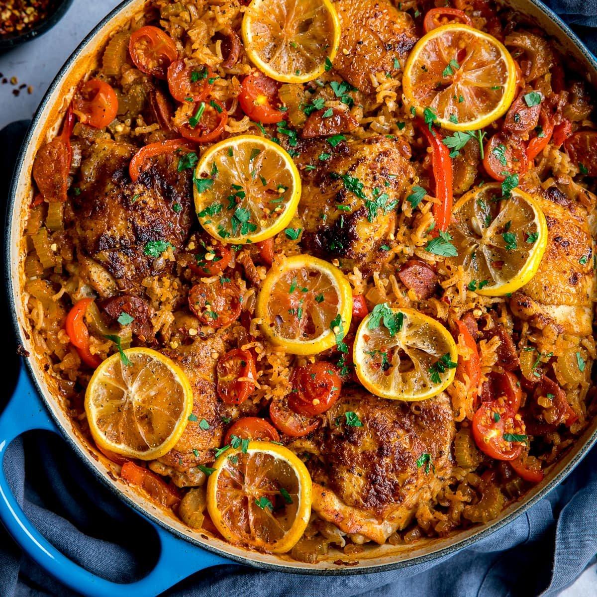 Easy Spanish Chicken And Rice Recipe
