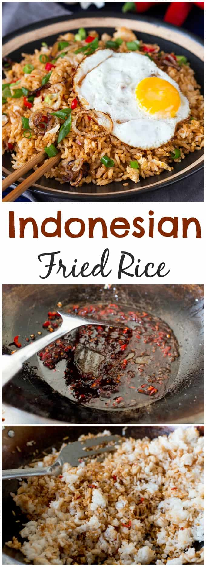 How to make spicy Indonesian fried rice. #BetterthanTakeout #fakeaway #friedrice #recipe