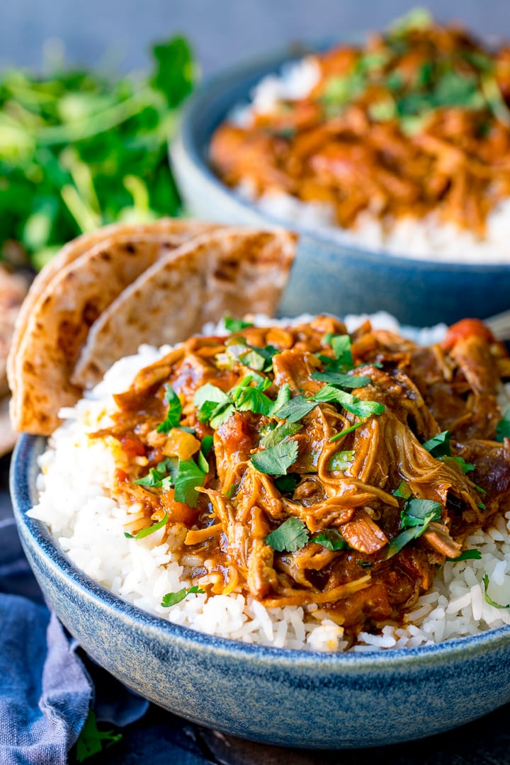 Pulled Lamb Curry - full of flavour without the chillies. Perfect for the whole family!
