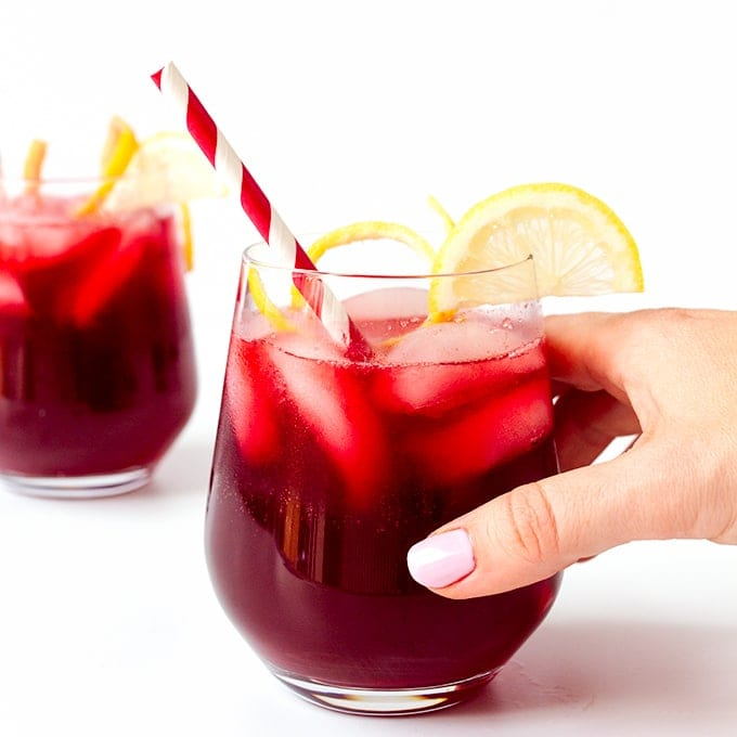Spiced Berry Cooler