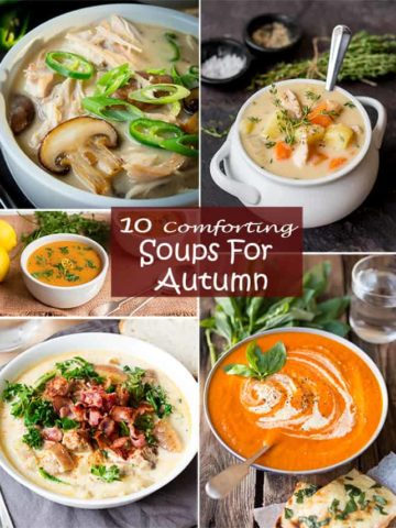 10 Comforting Soups for Autumn