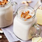 A touch of white chocolate with creamy cashews, coconut milk and a few other nutritious goodies make this a lovely, warming winter breakfast.