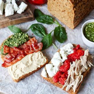 The 9 Combination Sandwich