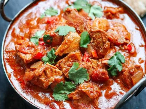 Slow Cooker Spicy Chicken Curry