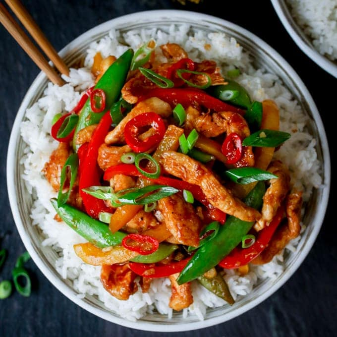 Quick Chicken Stir Fry Without The Shop Bought Stir Fry Sauce