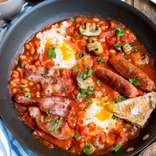 One Pan English Breakfast