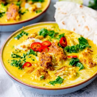 Easy From Scratch Thai Yellow Curry With Fish