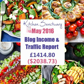 Blog Income and Traffic Report May 2016