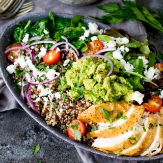 Chicken and Quinoa Salad Bowl