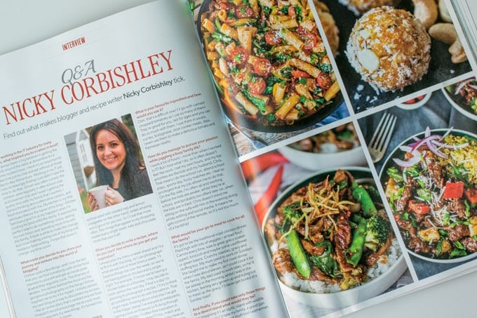 Nickys Feature in Super Food Magazine