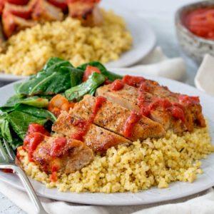 HelloFresh family box review - Cajun pork