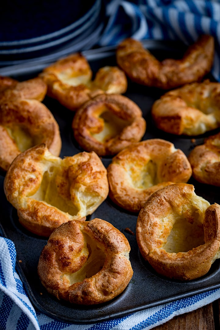 The Best Yorkshire Pudding Recipe Nicky S Kitchen Sanctuary