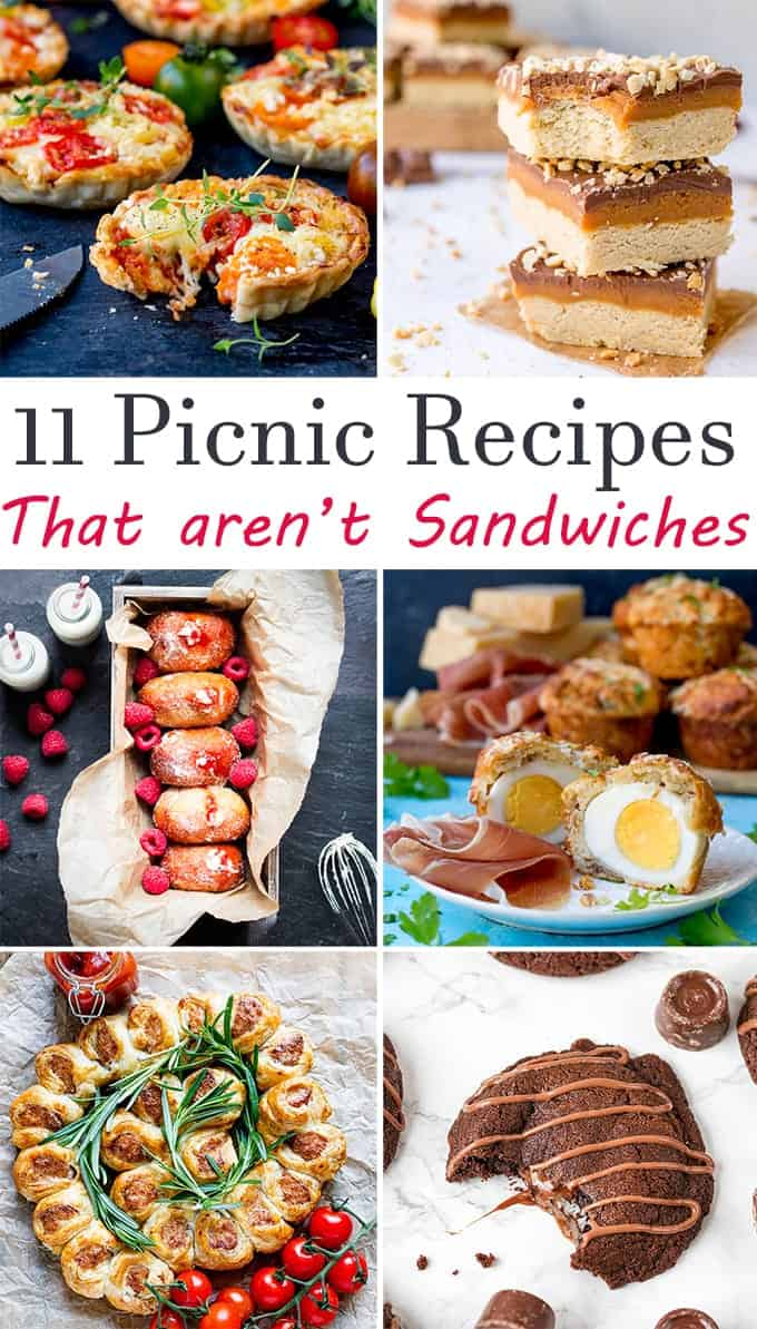 11 Picnic Food Ideas That Arent Sandwiches Nickys Kitchen Sanctuary
