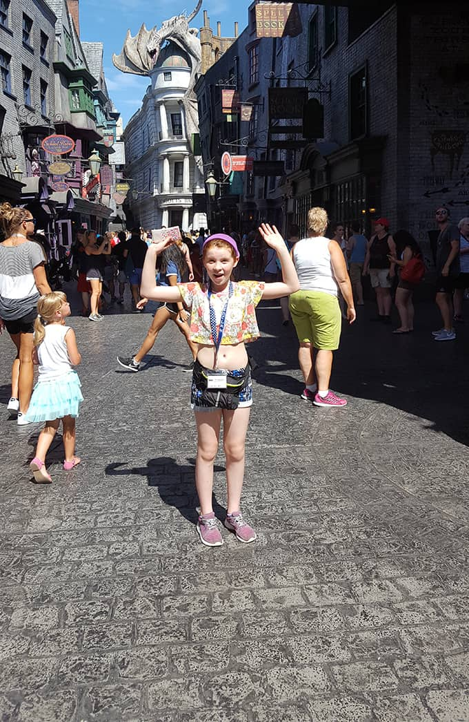 Gracey in Diagon Alley