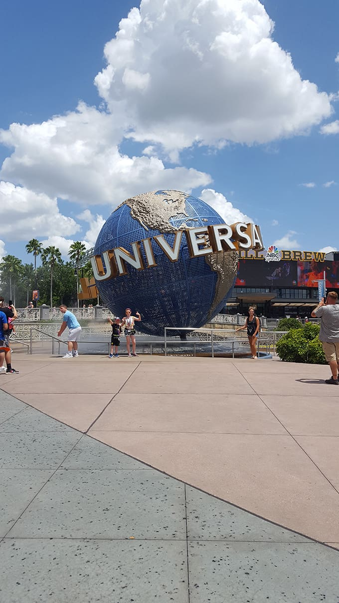 day at Universal Studios