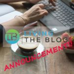 Living the Blog Announcement