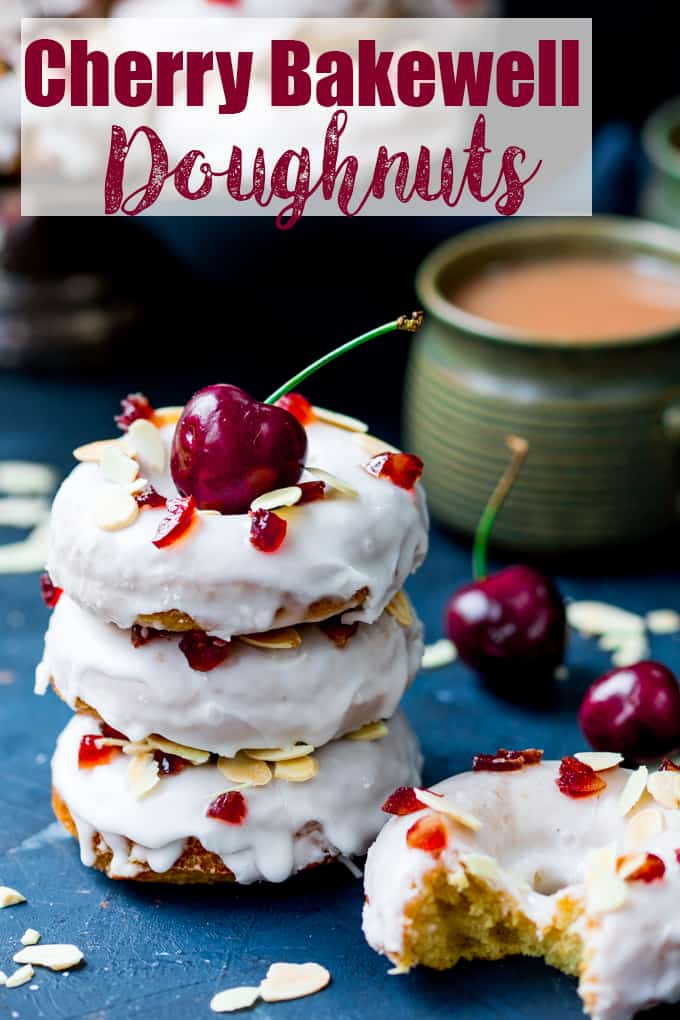 Cherry Bakewell Cakes Recipe
