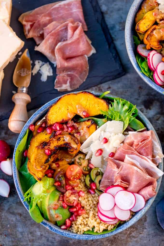 Close up photo of a Winter Nourish Bowl