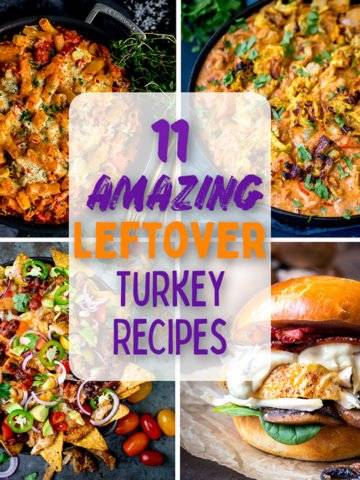 11 leftover turkey recipes - even if you're bored of turkey!