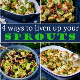 4 ways to give sprouts a lift this Christmas! + videos!