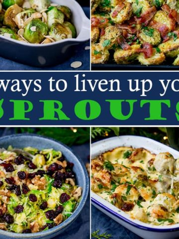 It wouldn't be Christmas without sprouts! But they can get boring pretty quickly. That's why we've put together 4 sprout recipes - each with it's own recipe video!