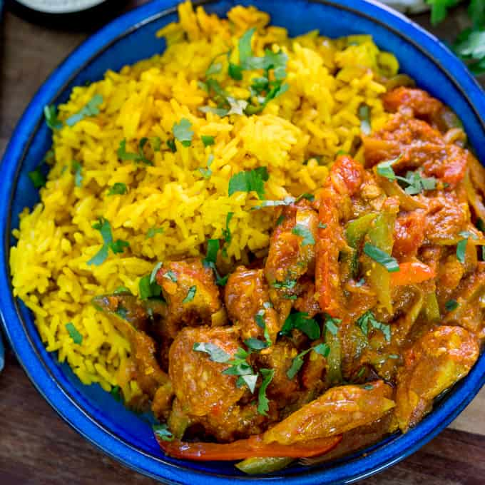 chicken jalfrezi with homemade pilau rice nicky s kitchen sanctuary