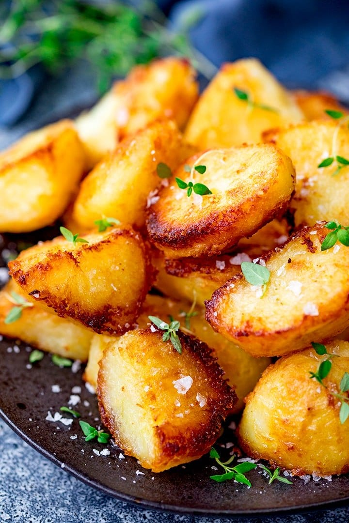 The Best Crispy Roast Potatoes Nicky S Kitchen Sanctuary