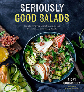 Book cover of Seriously Good Salads book by Nicky Corbishley