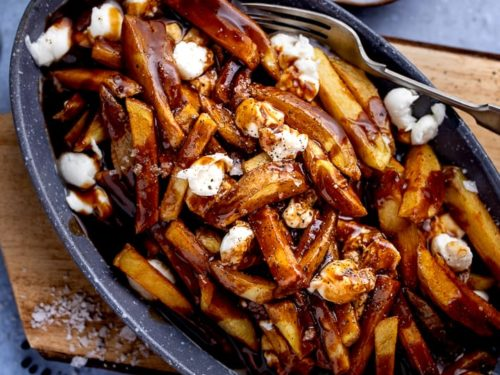 How to make Poutine - Nicky's Kitchen Sanctuary