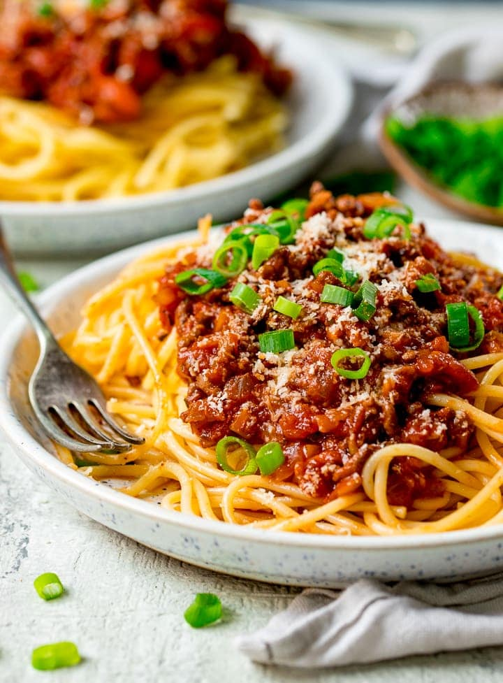 Spaghetti Bolognese Recipe Nicky S Kitchen Sanctuary