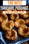 Yorkshire puddings in a tray