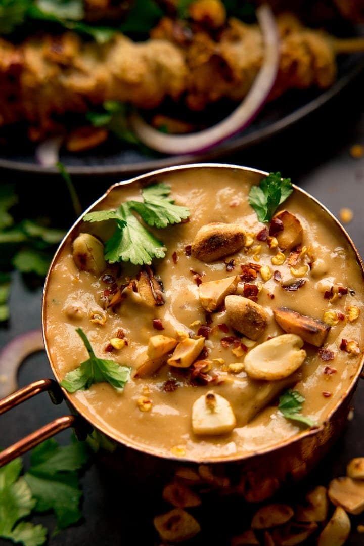 Easy Satay Sauce Recipe Nicky S Kitchen Sanctuary