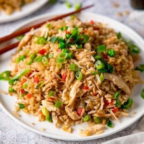 Chicken Fried Rice Nicky S Kitchen Sanctuary