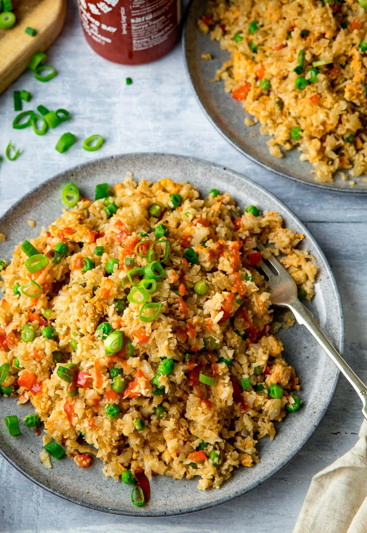 Cauliflower Fried Rice Nicky S Kitchen Sanctuary