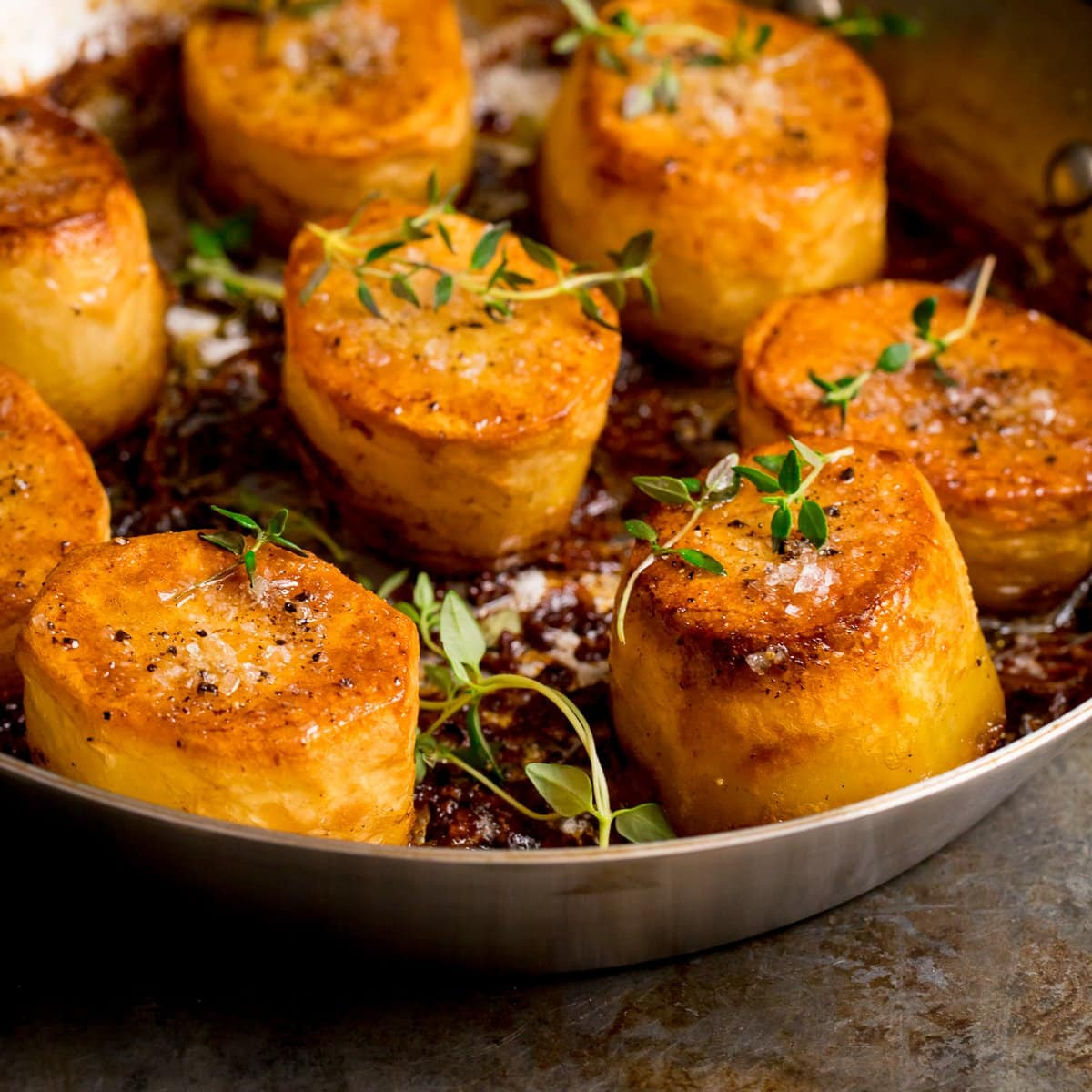 Fondant Potatoes Nicky S Kitchen Sanctuary